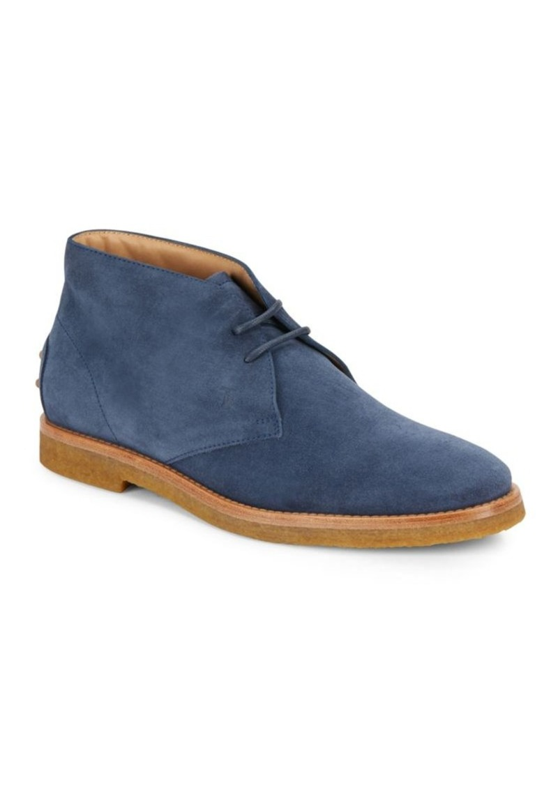 Tod's Leather Chukka Boots