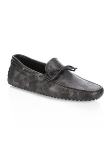 Tod's Leather Gommini Tie Drivers