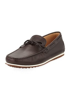 Tod's Leather Moc-Toe Driver