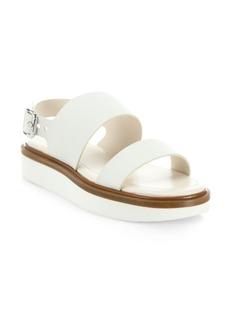Tod's Lightsole Leather Platform Sandals