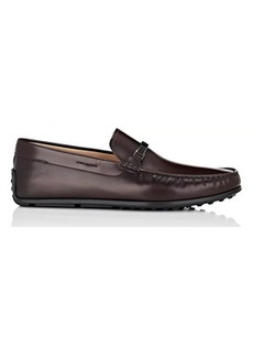 Tod's Men's Bit-Detail Leather Drivers