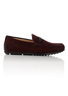 Tod's Men's Bit-Detailed Suede Drivers