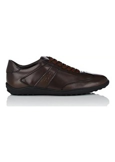 Tod's Men's Owen Burnished Leather Sneakers