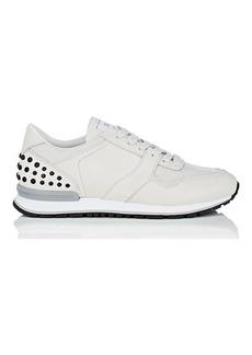 Tod's Men's Pebble-Detail Suede & Mesh Sneakers