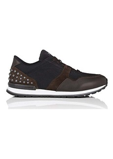 Tod's Men's Pebble-Embellished Sneakers