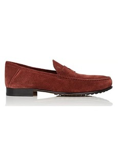 Tod's Men's Suede Penny Loafers