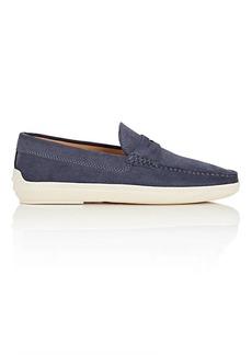 Tod's Men's Suede Penny Sneakers