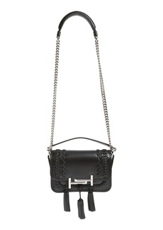Tod's 'Mini Double T' Leather Shoulder Bag