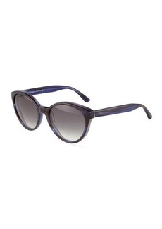 Tod's Modified Round Plastic Sunglasses