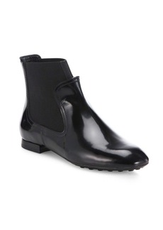 Tod's New Beatle Patent Leather Booties