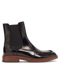 Tod's Patent-leather Chelsea boots