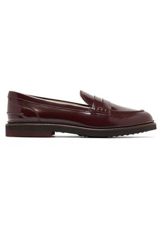 Tod's Patent-leather penny loafers