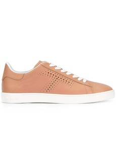 Tod's perforated lace-up sneakers - Nude & Neutrals