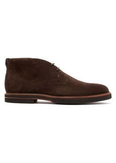 Tod's Polacco suede desert boots