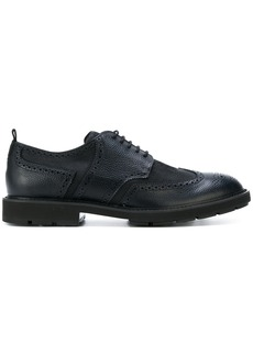 Tod's ridged sole brogues - Blue