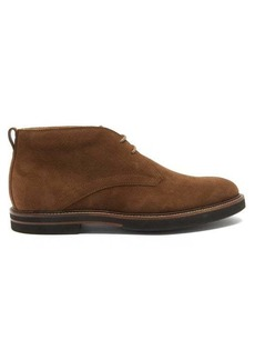 Tod's Rubber-sole suede desert boots