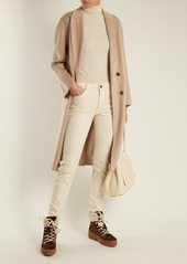 Tod's Shearling-lined suede après-ski boots