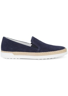 Tod's slip-on espadrille sneakers - Blue