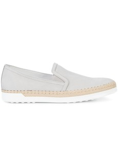 Tod's slip-on espadrille sneakers - Grey