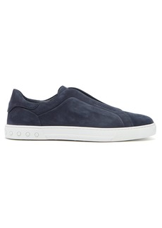 Tod's Slip-on suede trainers