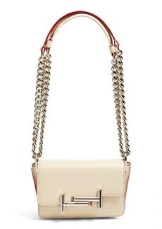 Tod's 'Small Venice' Calfskin Leather Crossbody Bag