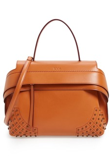 Tod's 'Small Wave' Leather Satchel