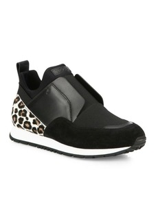 Tod's Sportivo Mixed Media Sneakers