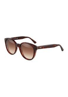 Tod's Square Gradient Plastic Sunglasses