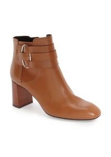 Tod's Square Toe Retro Bootie (Women)