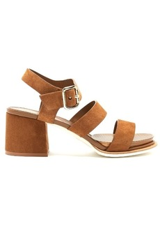 Tod's Suede block-heel sandals