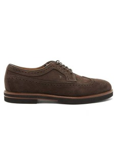 Tod's Suede brogues
