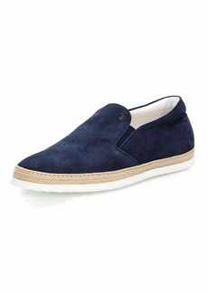 Tod's Suede Espadrille Slip-On Sneaker