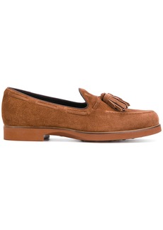 Tod's tasselled loafers - Brown