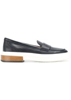Tod's flatform penny loafers - Blue