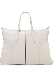 Tod's Woman D-styling Small Leather Tote Ivory