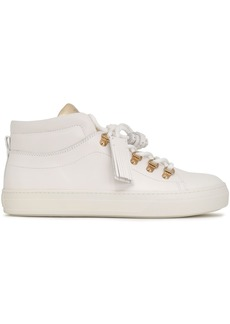 Tod's Woman Leather High-top Sneakers White