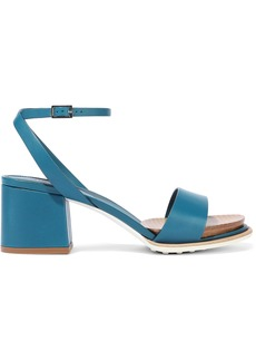 Tod's Woman Leather Sandals Blue