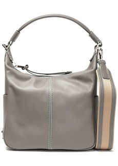 Tod's Woman Leather Shoulder Bag Gray