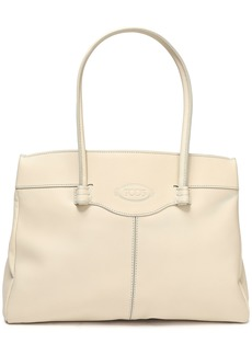 Tod's Woman Leather Tote Cream