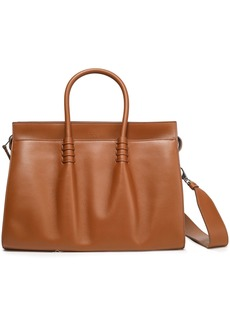 Tod's Woman Leather Tote Light Brown