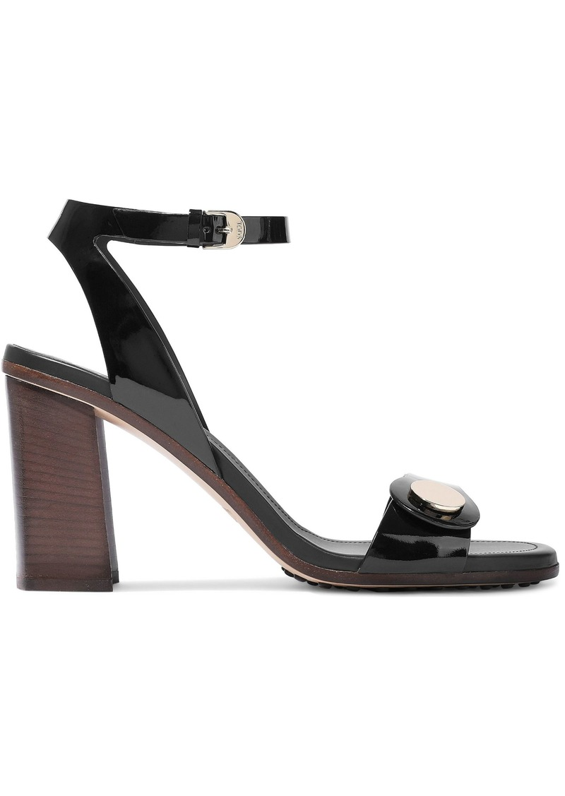 Tod's Woman Patent-leather Pumps Black