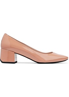 Tod's Woman Patent-leather Pumps Pastel Pink