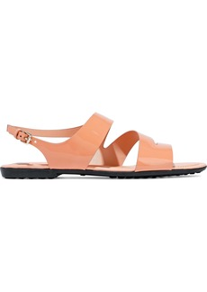 Tod's Woman Patent-leather Sandals Antique Rose