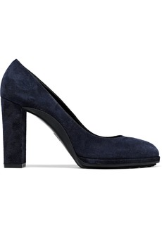 Tod's Woman Suede Pumps Midnight Blue
