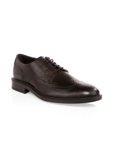 Tod's Wing Tip Leather Derby Shoes