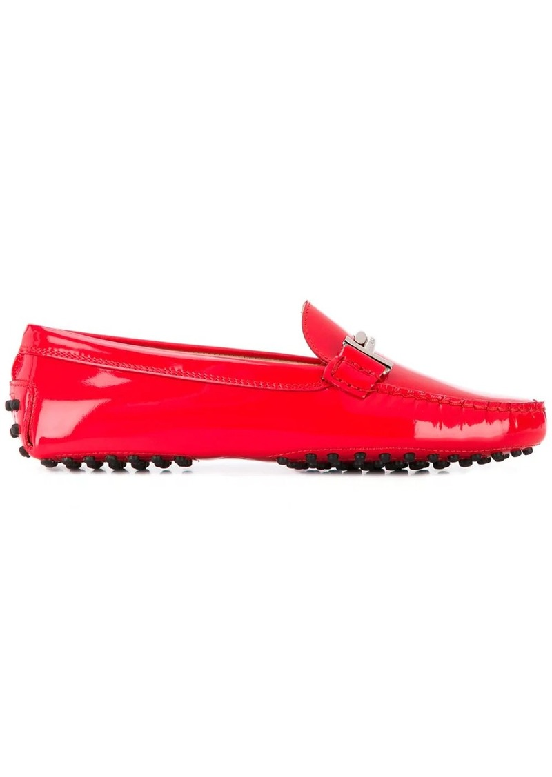 Tod's patent leather Gommino driving shoes