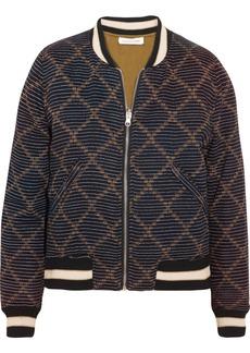 Étoile Isabel Marant Dabney reversible printed cotton bomber jacket