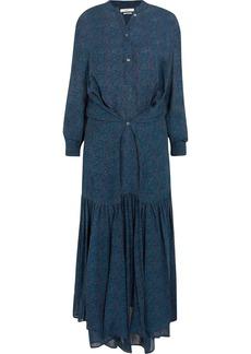 Isabel Marant Étoile Javene printed chiffon maxi dress