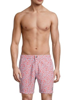 Tom & Teddy Geometric Swim Shorts