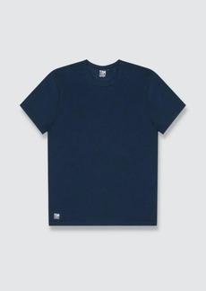 Tom & Teddy Solid Deep Blue Short Sleeve T-Shirt - XXL - Also in: XL, M, L, S